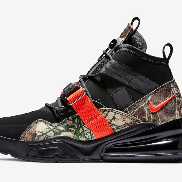 Nike Other - Nike Air Force 270 Utility Realtree Men's Size 11